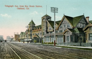 Telegraph Ave., from Key Route Station, Oakland, California