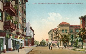 Telegraph Avenue and Bancroft Way, Berkeley, California