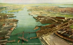 The Estuary, Famous Inner Harbor of Oakland, California