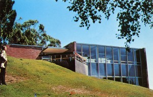 The Library Building completed in 1959, Pacific Lutheran Theological Seminary, 2770 Marin Avenue, Berkeley, California