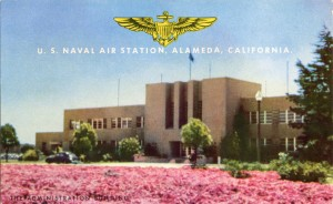 The Administration Building, U. S. Naval Air Station, Alameda, California