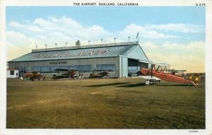Oakland Airport, Hangar No. 1, Oakland, California