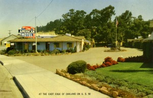 The American Motel, 920 MacArthur Blvd., San Leandro, California