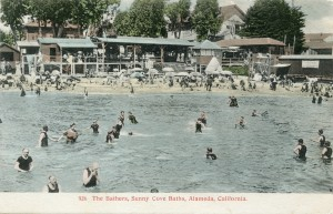 The Bathers, Sunny Cove Baths, Alameda, California