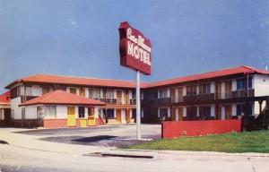 Casa Blanca Motel, Foothill and D Street, Hayward Calif.