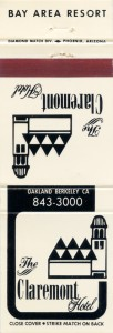 The_Claremont_Hotel_Oakland_Berkeley_matchbook