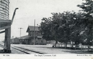 The Depot, Livermore, Calif., mailed 1909