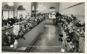 "The First National Bank of Pleasanton, ""Annual Rose Show"""