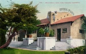 The Gateway, Idora Park, Oakland, California, mailed 1910