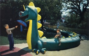 The Happy Dragon, Children's Fairyland, Oakland, California