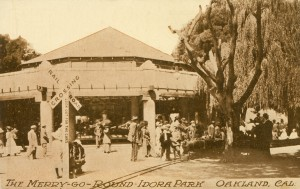 The Merry-Go-Round in Idora Park, Oakland, Cal.