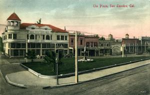 The Plaza San Leandro, Cal.