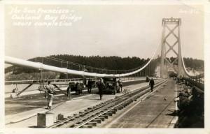 San Francisco - Oakland Bay Bridge nears completion