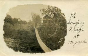The Swinging Bridge at Hayward