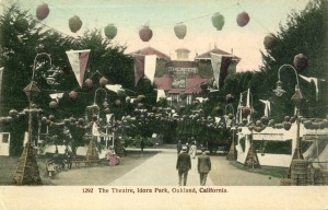 The Theatre, Idora Park, Oakland, California