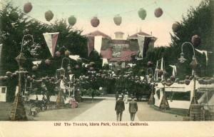 The Theatre, Idora Park, Oakland, California