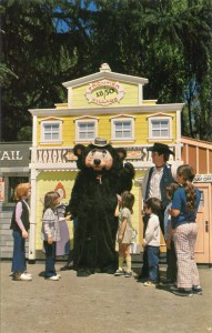 Theodore Bear, the Hoffical Host of Frontier Village, San Jose, California