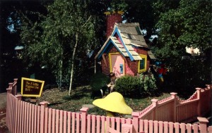 Brick House, Three Little Pigs, Children's Fairyland, Oakland, California
