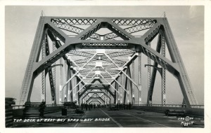 Top Deck of East Bay Span,  1936