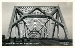 Top Deck of East Bay Span,  1936
