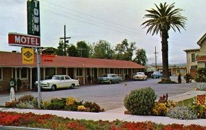 Town Motel, 3068 First St., Livermore, California