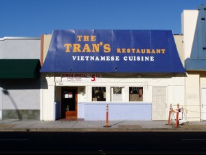 Trans Vietnamese Restaurant, 1531 Webster St., Alameda, California