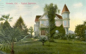 Typical Residence, Alameda, California mailed 1911