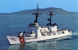 U. S. C. G. C. Rush, commissioned in 1969, Home Ported in Alameda, California