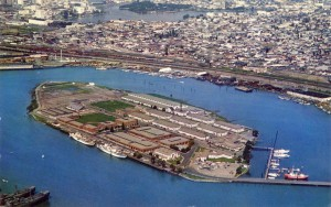 U. S. Coast Guard Base, Government Island, Alameda, California