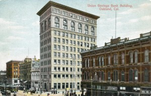 Union Savings Bank Building, Oakland, Cal.