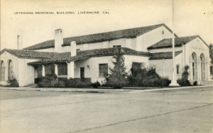 Veterans Memorial Building Livermore CAL California