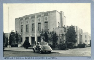 Veterans Memorial Building, Hayward, California