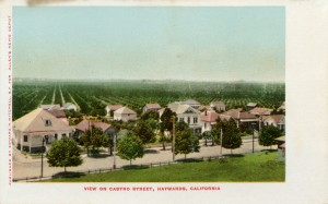 View of Castro Street, Hayward, California
