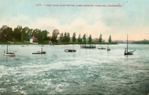 View from Boat House, Lake Merritt, Oakland, California