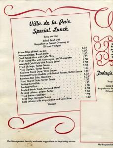 Villa_de_la_Paix_Special_Lunch_menu_A