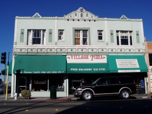 Village Cafe Pizza and Italian Restaurant, 1337 Park St., Alameda, California
