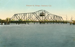 Webster St. Bridge, Oakland, Cal., mailed 1918