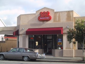 Weinerschnitzel, 1708 Webster St., Alameda, California
