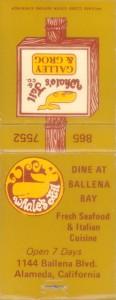 Whale's Tail, 1144 Ballena Blvd., Alameda, California