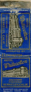 Whitecotton Hotel, Berkeley, California