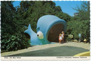 Willie, The Blue Whale, Children's Fairyland, Oakland, California