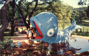 Willie the Blue Whale, Children's Fairyland, Oakland, California