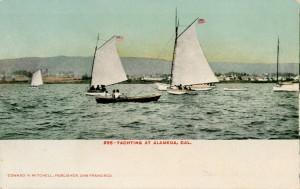 Yachting at Alameda, Cal.