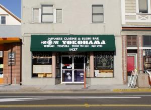 Yokohama Japanese Restaurant, 1427 Webster St., Alameda, California