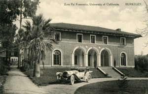 Zeta Psi Fraternity, University of California, Berkeley, California