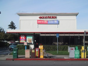 Jack in The Box, 1257 Park St., Alameda, California