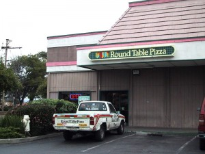 Round Table Pizza, 2611 Blanding Ave., Alameda, California