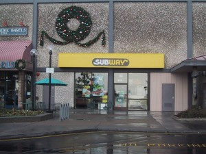 Subway Sandwiches, 2212 S. Shore Center, Alameda, California