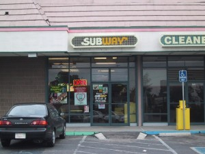Subway Sandwiches, 2627 Blanding Ave., Alameda, California